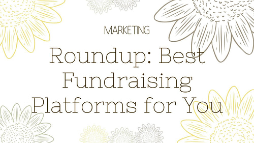 Roundup: Best Fundraising Platforms for You