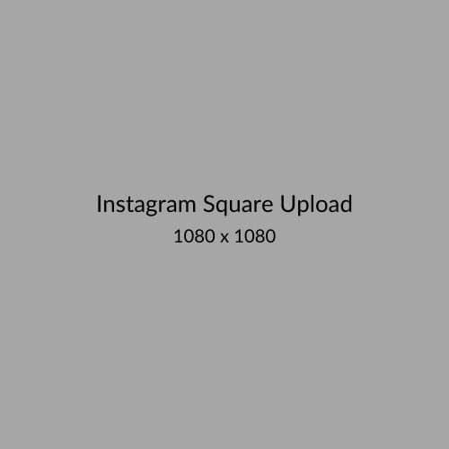 Instagram Square Upload
