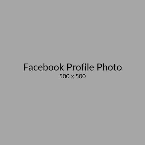 Facebook Profile Photo Recommended Size Visual