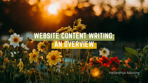 Website Content Writing: An Overview