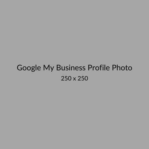 Google My Business Profile Photo Size