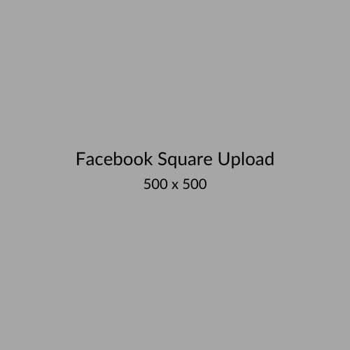 Facebook Square Upload