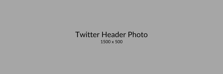 Twitter Header Photo