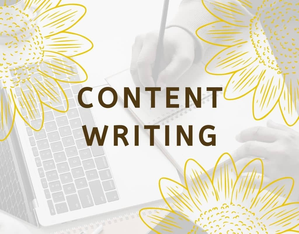 Content Writing Services Feature